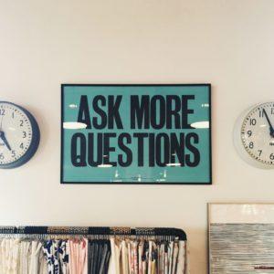 Dekoration - Fråga mer frågor (photo by Jonathan Simcoe)